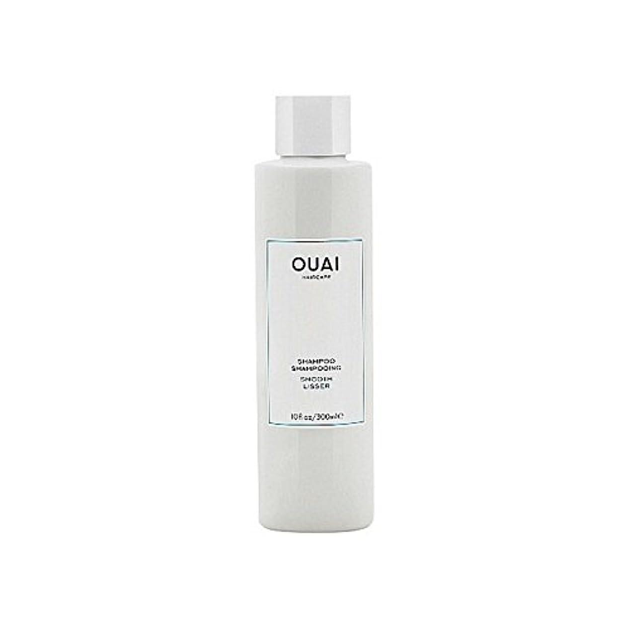 Ouai Smooth Shampoo 300ml (Pack of 6) - スムーズなシャンプー300ミリリットル x6 [並行輸入品]