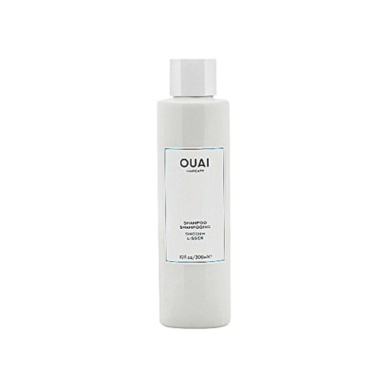回答遠洋の突破口Ouai Smooth Shampoo 300ml - スムーズなシャンプー300ミリリットル [並行輸入品]