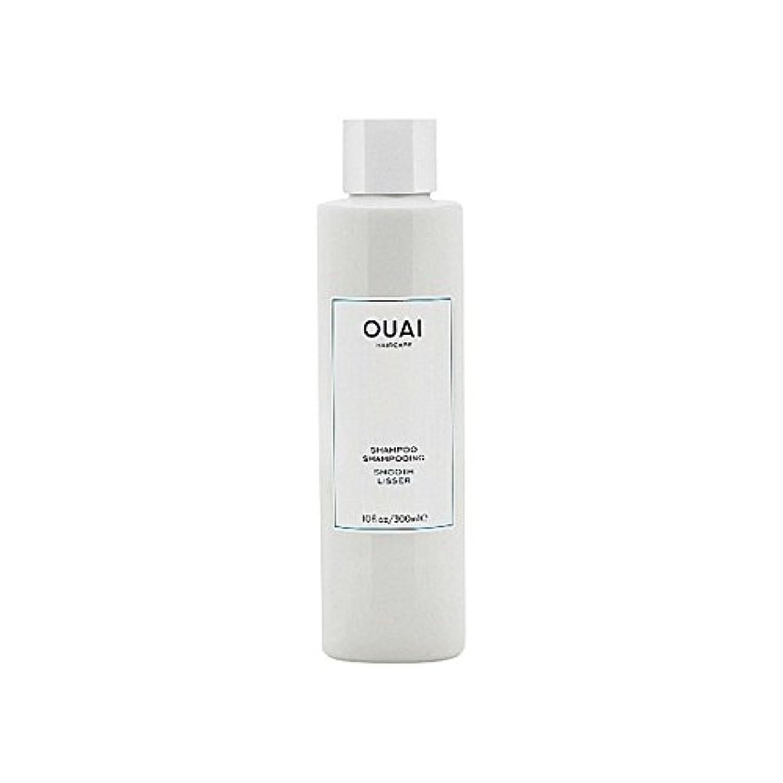 太字印象派観察Ouai Smooth Shampoo 300ml - スムーズなシャンプー300ミリリットル [並行輸入品]