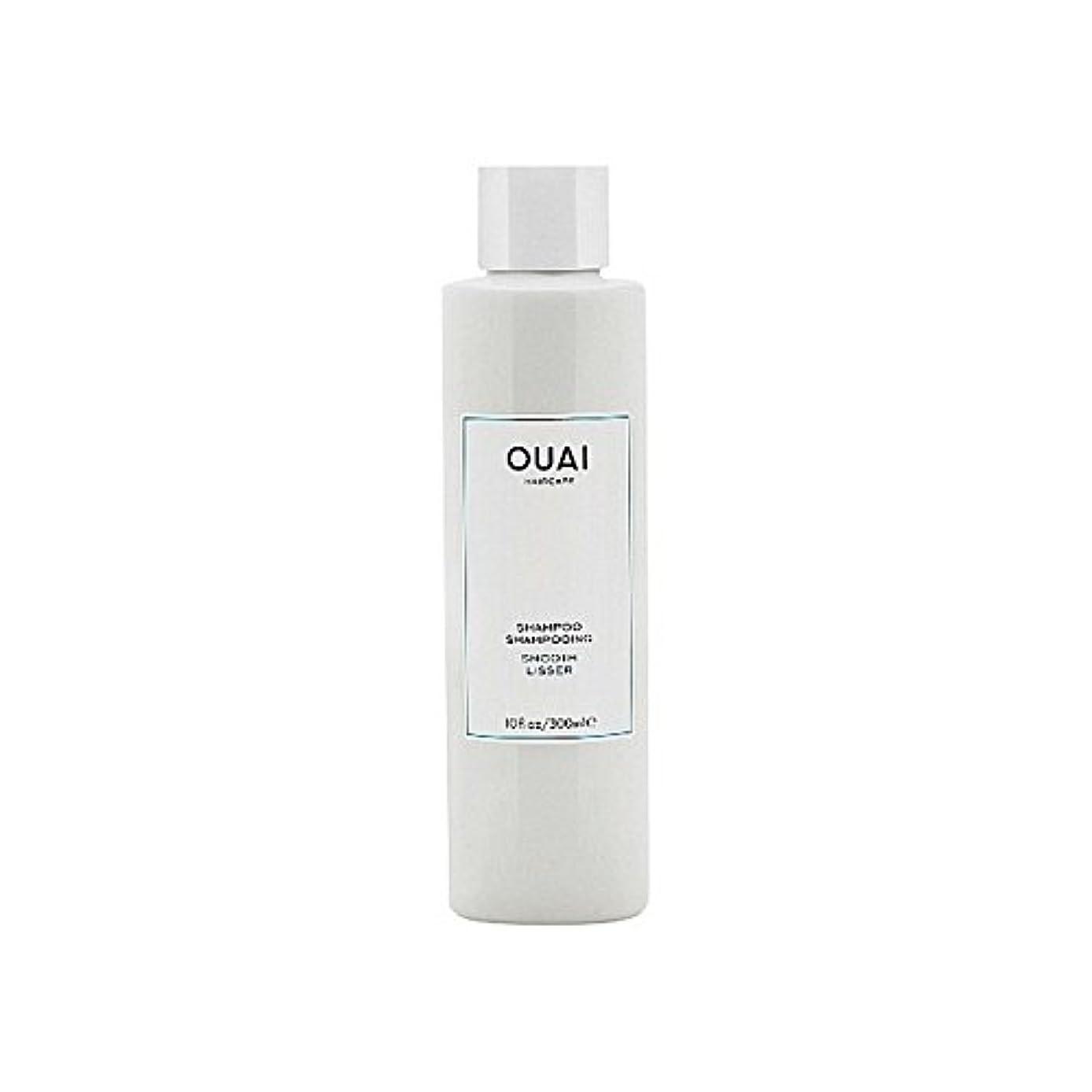 線形味わう後継Ouai Smooth Shampoo 300ml - スムーズなシャンプー300ミリリットル [並行輸入品]