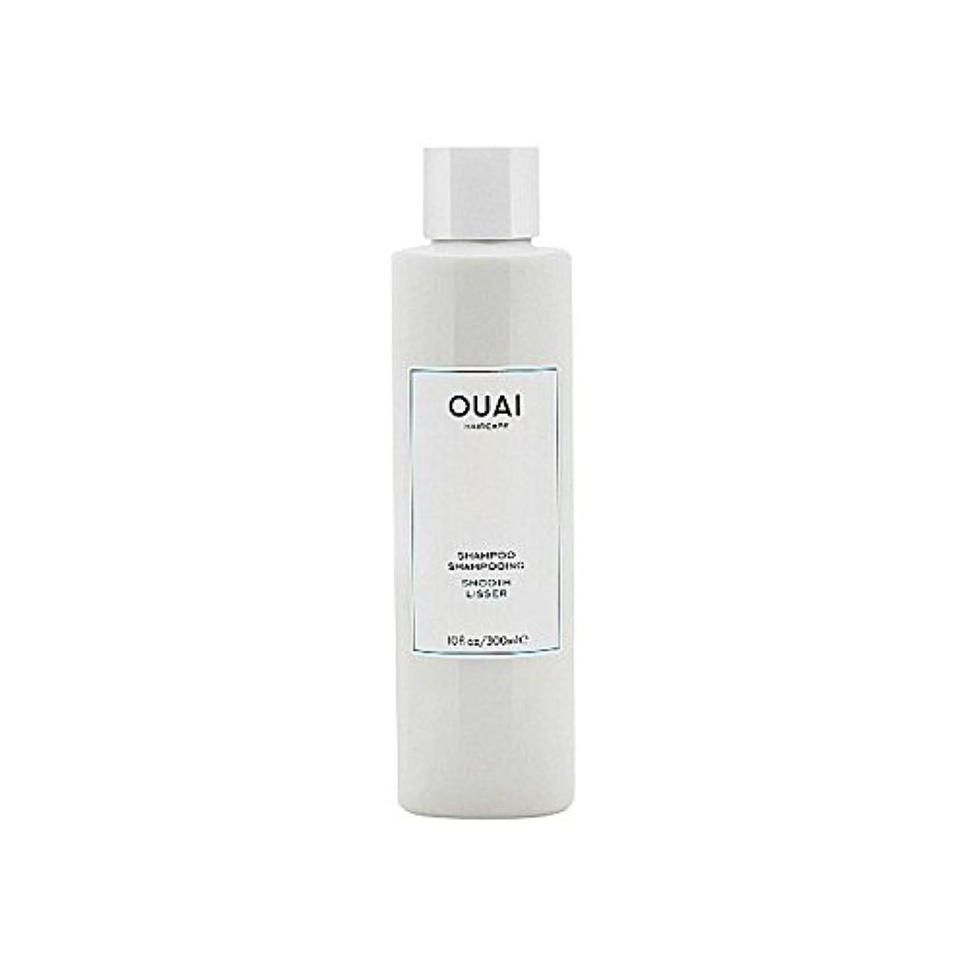 ウォルターカニンガムソケットモトリーOuai Smooth Shampoo 300ml (Pack of 6) - スムーズなシャンプー300ミリリットル x6 [並行輸入品]