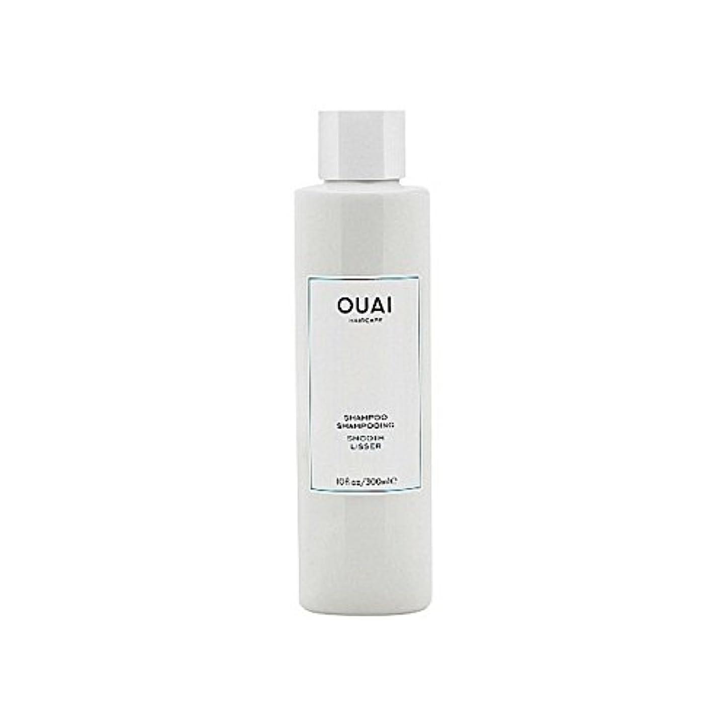 マイルストーンれんが海藻スムーズなシャンプー300ミリリットル x2 - Ouai Smooth Shampoo 300ml (Pack of 2) [並行輸入品]