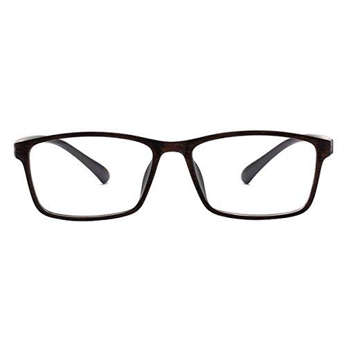 Die Brille Stilvolle Tr90 Frame Kurzsichtig Brillen -0.50 zu -6.00 für Männer Frauen (-0.50)* * * Bitte Beachten sie, das Sind Keine Lesebrille * * *