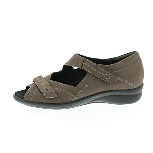 Durea Damenschuhe Sandale Weite H Taupe 7330218 (41 EU)