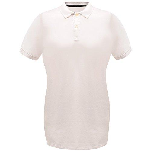 Regatta Classic 65/35 Polo Chemise, Blanc, 48 Femme