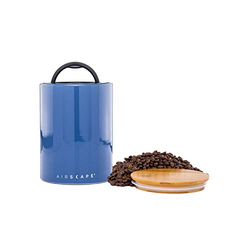 Airscape Ceramic Coffee and Food Storage Canister - Patented Airtight Lid