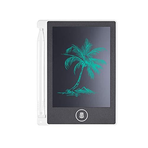 Hahepo Tableta de graffiti inteligente, 4,4 pulgadas, pantalla LCD, papel de dibujo, bloc de notas para niños