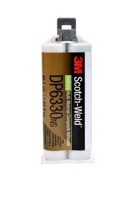 3M™ Scotch-Weld™ 2-Komponenten-Konstruktionsklebstoff auf Polyurethanbasis für das EPX System DP 6330 NS, Grün, 48,5 ml