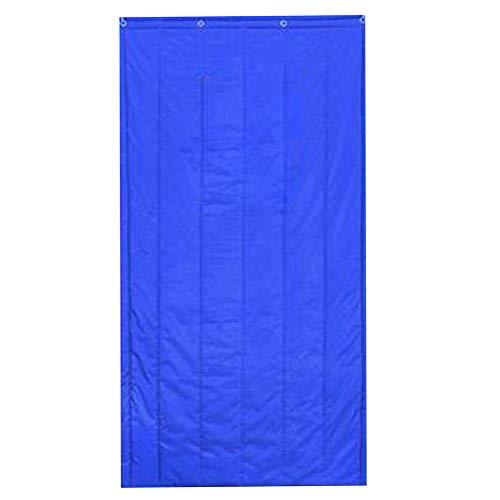 Whinop Azul Cortina Aislante Termica 120x220cm/47.28x86.7in Cortinas Exterior para Dormitorio/Cocina
