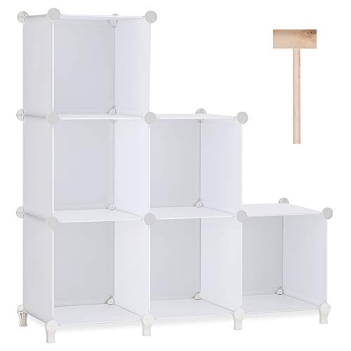 Kaliza Bathroom Shelves – Wall Mounted Bathroom Shelves, Rustic Décor for Bathroom, Bedroom, Kitchen, Living Room – Wooden Storage Shelf – Incredibly Easy to Install - 2 Pack(White)
