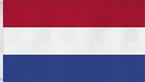 normani XXL Flagge Fahne, genäht in 150 x 250 oder 300 x 500 cm Farbe Niederlande Größe 150x250