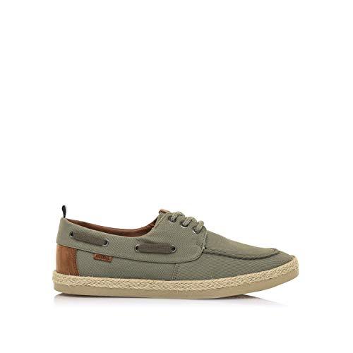 Zapatos Hombre mustang | Zapatos BEQUIO 84667 | mustang Hombre | Zapatos Plano | Cierre con Cordones | 48937 | Kaki | 44