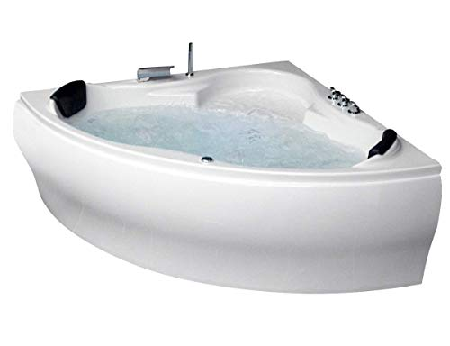 Whirlpool Badewanne Karibik Basic MADE IN GERMANY 140 x 140 + 150 x 150 cm mit 13...