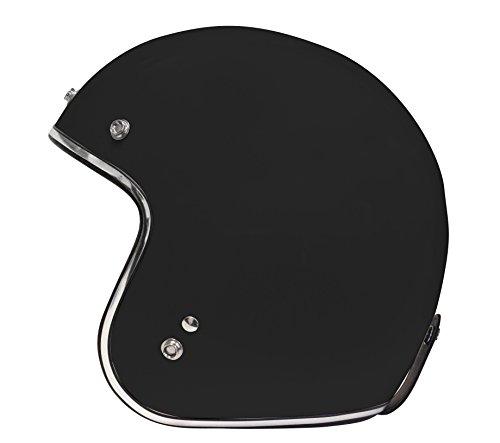 Origine Helmets Origine Primo Motorradhelm, Farbe: Schwarz, Größe: S