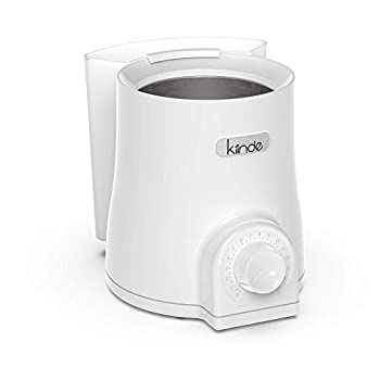 Kiinde Kozii Pro Baby Bottle Warmer and Breast Milk Warmer with SafeHeat Technology and Auto Shutoff for Warming Breast Milk Infant Formula and Baby Food Preserves Nutrients