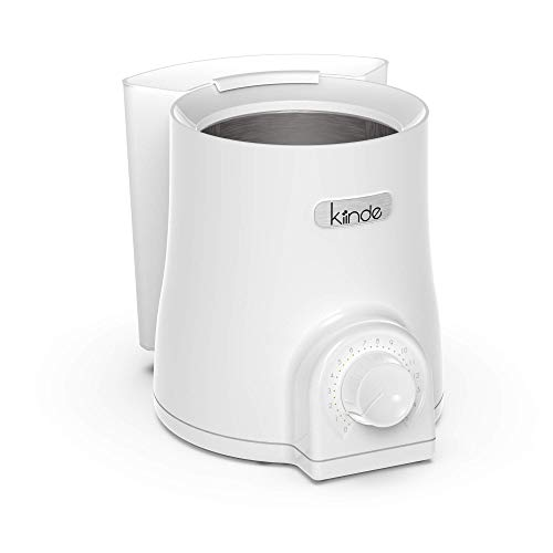 Kiinde Kozii Pro Baby Bottle Warmer and Breast Milk Warmer with SafeHeat Technology and Auto Shutoff for Warming Breast Milk, Infant Formula and Baby Food, Preserves Nutrients