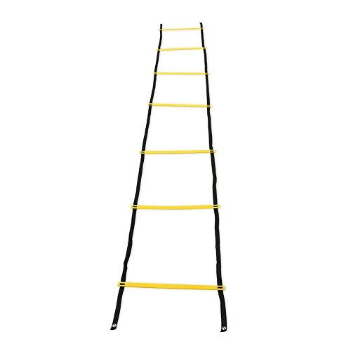 Escalera de Agilidad, Escalera de Entrenamiento de Nailon para Entrenamiento de fútbol, fútbol, Fitness, pies, 7 - Rung