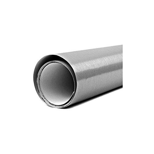 WrapWorkers Series Vinilo de Aluminio Cepillado 25x152cm