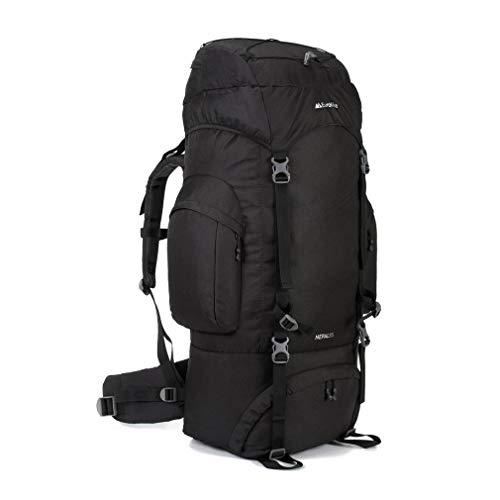 Eurohike Nepal 85L Rucksack, Black, One Size