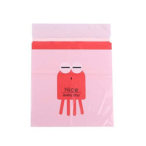 Bolsa de basura biodegradable, fácil de pegar, autoadhesivo, con bonito patrón, para coches, oficinas, suministros para el hogar, 15/30/60 unidades