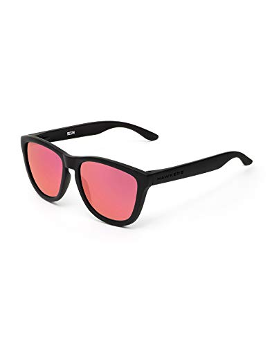 Hawkers Carbon Black Ruby One TR18 Occhiali da Sole, Nero (Negro/Rojo), 60 Unisex-Adulto