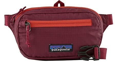 Patagonia Mini Hip Pack Black Hole, Roamer red