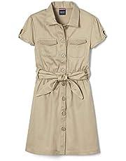 فستان سفاري طويل للفتيات من French Toast