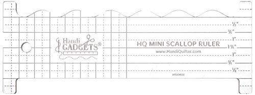 Handi Quilter HG00602 Mini Scallop ruler