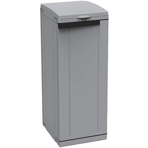 1 unidad de papelera 1 puerta 44 x 39 x 89 H cm ECOLINE1 TERRY