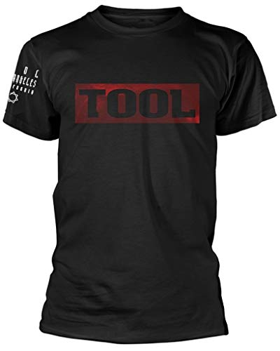 Tool '10,000 Days (Logo)' (Black) T-Shirt (Small)