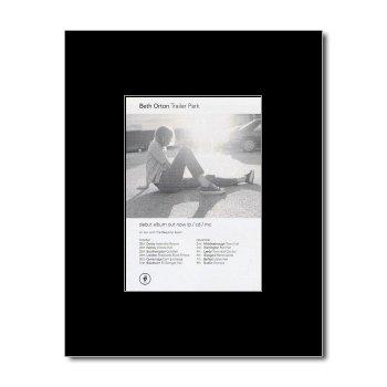 BETH ORTON - Trailer Park Matted Mini Poster - 13.5x10cm