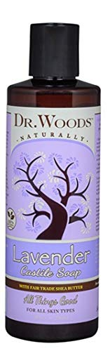 Dr. Woods Pure Castile Soap with Organic Shea Butter - Lavender - 8 oz by Dr. Woods