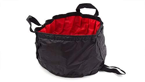 Alberta 10L Klapp Reise Waschbecken Fuß Waschbecken tragbare Falten Eimer Wassertank-Red Angeln Outdoor-Camping-Wandern (Color : Red)