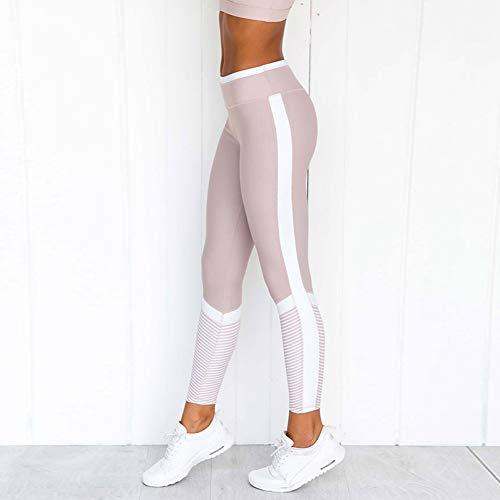 YUJIAKU Yoga broek/strak/Abdominale oefening running yoga leggings Mode gedrukt stiksels leggings yoga fitness broek vrouwen