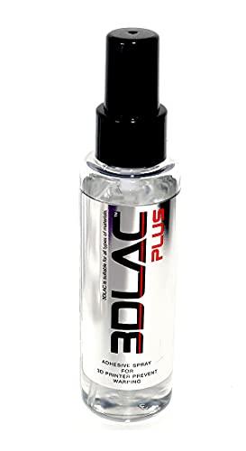 3DLAC Plus Bote Spray Fijador Adhesivo para Impresora Impresión 3D Doble Adherencia Antiwarping Nueva Formula Sin Fragancia Filamento PLA Fléxible TPU PETG Cama Caliente Formato Envío Aéreo
