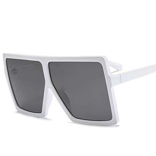 Modische Sonnenbrille Übergroße Sonnenbrille Frauen Brand Square Sonnenbrille Braun Schwarz Rosa Linsenschirme Uv400 Damenbrille Low Beige