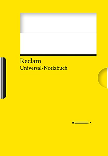 Reclams Universal-Notizbuch (gelb)