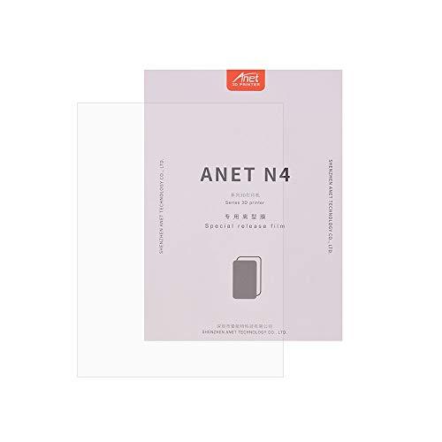 Aibecy Anet Release Film FEP professionnel Feuille de film Taille transparente 200 x 150 mm Épaisseur 0,15-0,2 mm Transmission de lumière 95 %