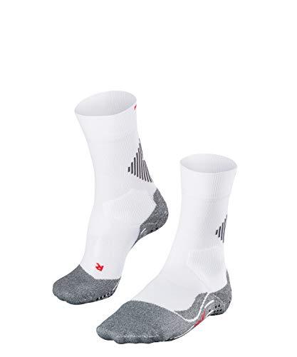 FALKE Unisex Socken 4 GRIP - Funktionsfaser, 1 Paar, weiß (White-Mix 2020), Größe: 42-43