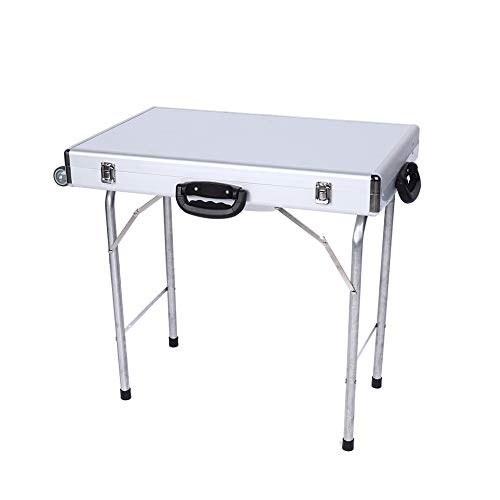 Jewelry Storage Box,with Handles Wheels 50CM Tripod,Jewelry Storage Suitcase,Aluminum Alloy,Display Case,with Handle Box,Foldable and Portable,for The Jewelry Storage at Stalls