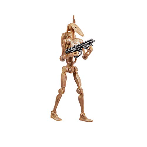 Star Wars The Vintage Collection Battle Droid Toy, 3.75-Inch-Scale Star Wars: The Phantom Menace Figure, Toys for Kids Ages 4 and Up