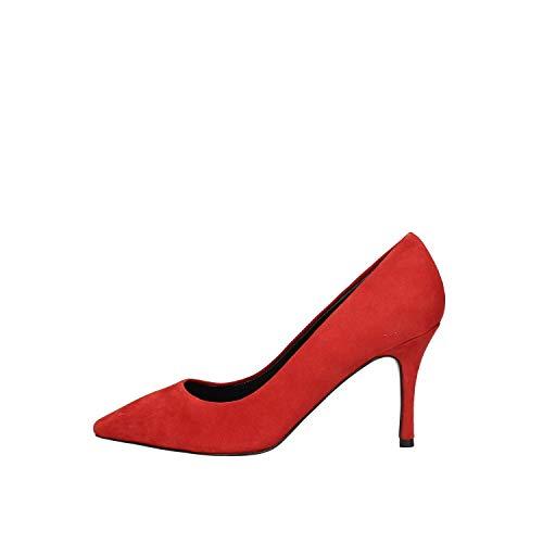 LUCIANO BARACHINI Dd641v Chaussures à Talons Decolletè Femme Rouge 36