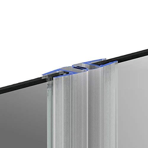 200cm M12 - DUSCHDICHTUNG Magnetdichtung für 5mm/ 6mm/ 8mm Glasstärke Wasserabweiser Duschdichtung DPD Schwallschutz Duschkabine Magnetduschdichtung .one-bath