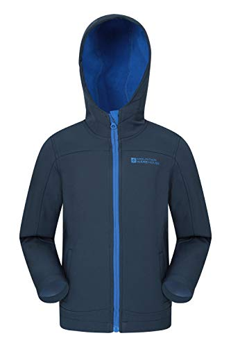 Mountain Warehouse Exodus Chaqueta de Softshell para niños
