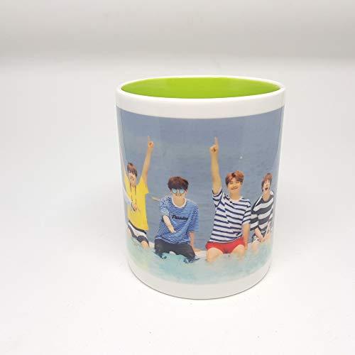 BTS kpop Taza Love Yourself FAKE LOVE bighit Gifts korean Merchandise Army Bangtan Boys Cup cerámica