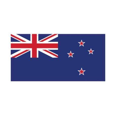 Sticker vlag New Zealand Nieuw-Zeeland 4 cm