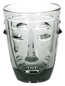 Andrea Fontebasso Set 6 Bicchieri Faccia CC270 Brenda Fume'
