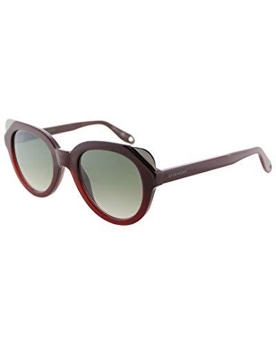 Givenchy Damen GV 7053/S EZ L39 50 Sonnenbrille, Rot (Shad Burgundy/Grey)