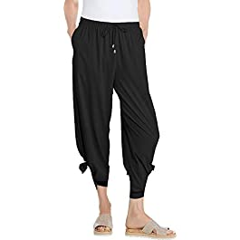 Coolibar UPF 50+ Women's Petra Wide Leg Pants – Sun...