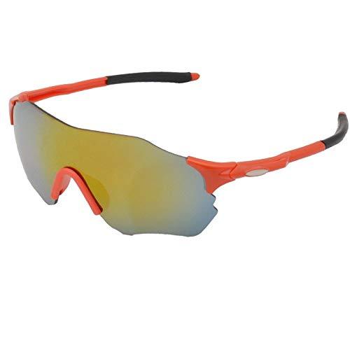Gafas De Sol Polarizadas para Hombres Gafas Deportivas Antideslumbrantes Sin Montura Lente Amarilla Gafas De Sol Gafas De Ciclismo para Exteriores Gafas Deportivas De Conducción Gafas De So